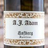 A J Adam Hofberg Riesling Spã¤tlese