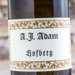 A.J. Adam Hofberg Riesling Trocken 2013