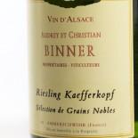 Binner Riesling Kaefferkopf Sélection De Grains Nobles 2006