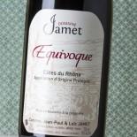 Jamet Côtes Du Rhône Équivoque 2018