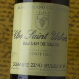 Zind Humbrecht Pinot Gris Rangen De Thann Clos Saint Urbain Grand Cru 2016