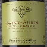 François Carillon Saint-Aubin 1er Cru Pitangeret 2018