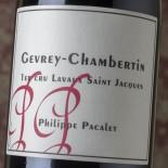 Philippe Pacalet Gevrey-Chambertin 1er Cru Lavaux Saint Jacques 2013
