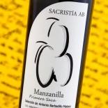 Sacristía Ab Manzanilla 2º Saca 2017 - 37,5 Cl