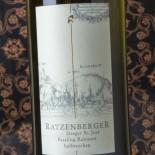 Ratzenberger Steeger St Jost Riesling Kabinett Halbtrocken
